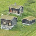 Husmannsplass fra Ulsberg i rennebu kommune, flyttet til Bjerkaker gård i Oppdal