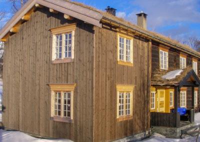 Tilbygg til gården Oppigard Vognild