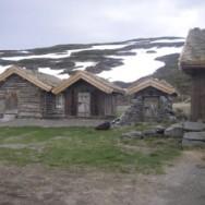 Sæter på Viøya i Unndalen i Oppdal kommune